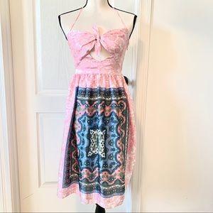 ASOS Petite Front Tie Dress